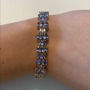 NWOT Tanzanite bracelet